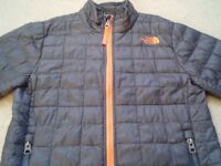 North Face Kids Brown Jacket Coat Boy / Girl Age 7-8 VGC