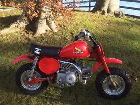 1981 Honda z50r classic 50cc motocross monkey bike z50 scrambler vintage mx collectors