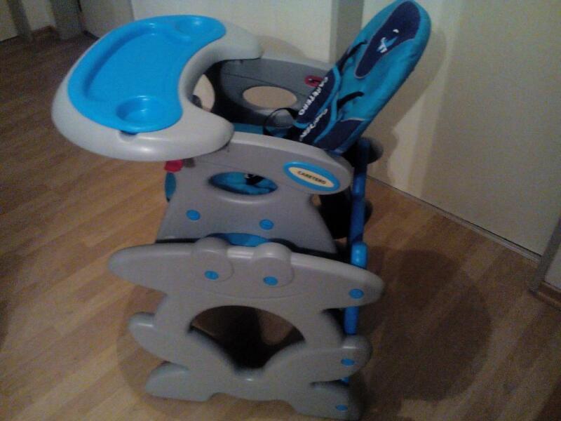 kinderhochstuhl 2in1 f r blau in sachsen chemnitz babyausstattung gebraucht kaufen ebay. Black Bedroom Furniture Sets. Home Design Ideas