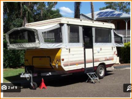 1996 Golf Hawksbury Offroad Pop Top Camper Trailer/Caravan