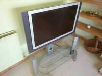 Philips TV and glass stand