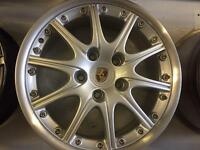 Porsche 997 alloy wheel for sale only got one front 7.5x18 £250 call 07860431401