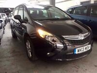 2013 Vauxhall Zafira 2.0 Diesel Automatic 7 Seater 25,000 Miles