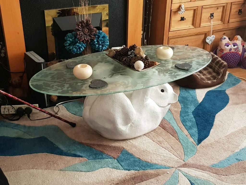 Polar bear table in langley mill nottinghamshire gumtree polar bear table geotapseo Gallery