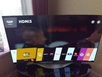 LG 55EC930V OLED TV CURVED/SMART/3D/FREESAT/WIFI/QUAD CORE/MEDIA PLAYER/ AS NEW NO OFFERS