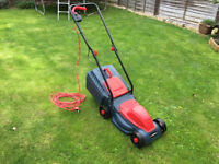 Sovereign Electric Rotary Lawnmower - 1000W, like new
