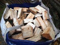 Firewood logs oak hardwood
