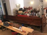 FREE! Two very old Church pews going in Peckham Rye. Free if you pick up yourself