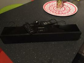 Orbit Soundbar with Docking Station & Remote Control