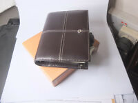 Filofax Pocket Classic, Italian leather, Chocolate brown £20