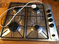 Stoves stainless steel gas hob four burner
