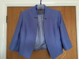 Women's Short Jacket - Blue - Phase Eight - Size 10