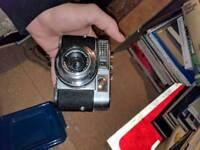 Vitomatic Classic Film Camera and cover.