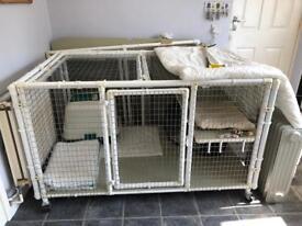 Ex breeder indoor cat pen, house