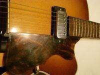 Hofner Senator SE1 electric guitar - Germany - '60s - Model 5124/05 - Brownburst
