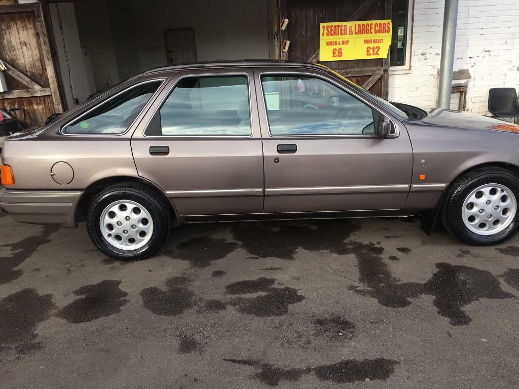 FORD SIERRA GHIA 1987.LOW 55k MILES.LONG MOT.EXELLENT CONDITION.PX/SWAPS