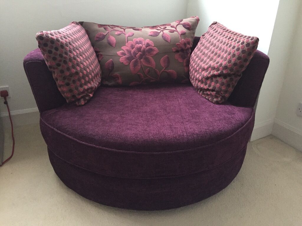 Dfs Circle Snuggle Chair 175 In Leith Links Edinburgh