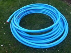 25mm Mdpe blue water pipe (40 meters)