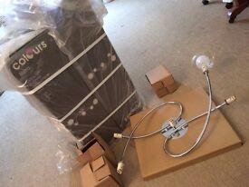 BRAND NEW IN BOX 2x Bistra ceiling lights (B&Q)