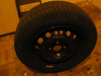 175-65-14 Tyre on Corsa rim like new