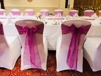 Chair Cover and Sashes