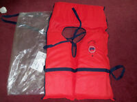 Unused Small Adult or Large Child Size Buoyancy Aid or Life Preserver Jacket