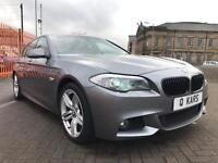 2011 (61) BMW 520d MSPORT AUTO / FULL BMW SERVICE HISTORY! OVER £5k WORTH OF EXTRAS!