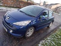 Peugeot 207 1.4 petrol Low milage