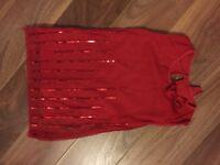 Red dress 3-4
