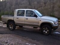 Wanted Toyota Hilux pickup 2wd/4wd, d4d/turbo/non turbo diesel