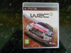 WRC 5 World rally championship Game for Sony PS3 Playstation 3