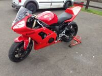 Yamaha R6 trackbike REDUCED PRICE for today