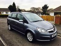 2005 VAUXHALL ZAFIRA 7 SEATER LONG MOT JUST HAD RECALL DONE BY VAUXHALL WITH CERTIFICATE