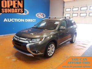 2016 Mitsubishi Outlander LEATHER! SUNROOF! 4X4! NEW TIRES!