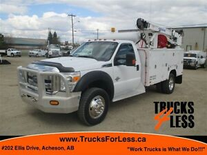 2012 ford F-550 XLT 4X4, BODY + CRANE + MORE!!!