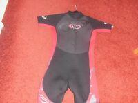 girls wet suit