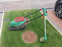 Flymo style lawnmower and strimmer