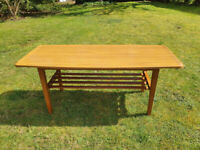 Vintage Formwood Formica Windsor Style Coffee Table 1970s