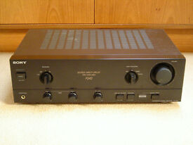 SONY TA F242 AMPLIFIER