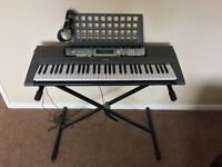 Yamaha EZ200 Portable Keyboard with Separate Stand
