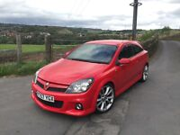 VAUXHALL ASTRA VXR, 2007, RED--STAGE 1-- 3 MONTH WARRANTY