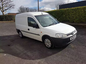 2002 Vauxhall Combo 1.7d Di, Economical, Great condition, FSH, 2 Previous owners, Full MOT, Boarded