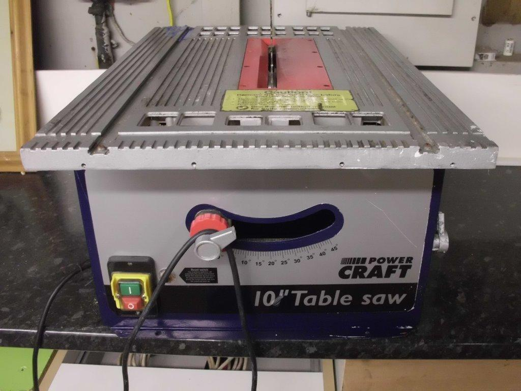 Power Craft 10 Table Saw In Bramley West Yorkshire