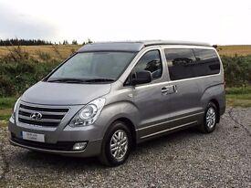 Hyundai i800 4 berth campervan with 5 belted seats
