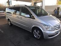 2011 11reg Mercedes Benz Viano 3.0 V6 Cdi Automatic Ambient Silver Top Of Range Cheapest Ever