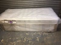 Single bed with mattress new