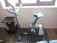 Decathlon exercise bike with comfort seat