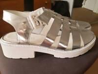 Top Shop sandals.