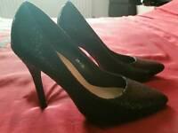 Smart black heels