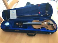 Quarter-size Stentor Student 1 violin with case and accessories